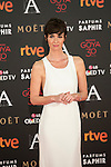 Paz Vega attends 30th Goya Awards red carpet in Madrid, Spain. February 06, 2016. (ALTERPHOTOS/Victor Blanco)