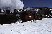 C&amp;TS rotary snowplow #OY and #484 on Cumbres Pass.<br /> C&amp;TS  Cumbres Pass, CO