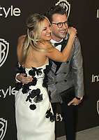 06 January 2019 - Beverly Hills , California - Kaley Cuoco, Brad Goreski. 2019 InStyle and Warner Bros. 76th Annual Golden Globe Awards After Party held at The Beverly Hilton Hotel. Photo Credit: AdMedia