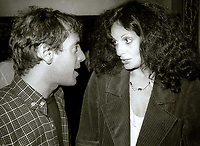 Steve Rubell and Diana Von Furstenberg 1978<br /> Photo By Adam Scull/PHOTOlink.net