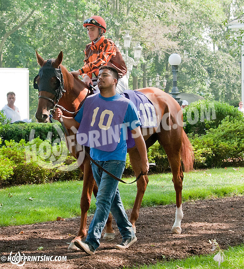 Joy before The Christiana Stakes at Delaware Park on 7/10/13