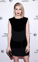 NEW YORK, NY - APRIL 24, 2014: Actress Emma Roberts attends the screening Premiere of  Palo Alto during the 2014 Tribeca Film Festival at SVA Theater on April 24, 2014 in New York City  © HP/Starlitepics /NortePhoto