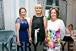 Enjoying  The Midsummer's Ball in aid of the Palliative Care Unit at the Rose Hotel on Friday were Muriel Devane, Tina Power and Martha O'Sullivan