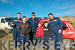 Kingdom Hot Rod: Attending the Kingdom  Hot Rod racing at Kilflynn on Sunday were Michael, Brendan, Jason Power, Arron McCabe, Noel & Brendan Power,