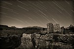 Star Trails Over Lomaki Ruins, Wupatki National Monument, AZ