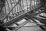 Detail of an old hay rake, Fort Rock, Oregon