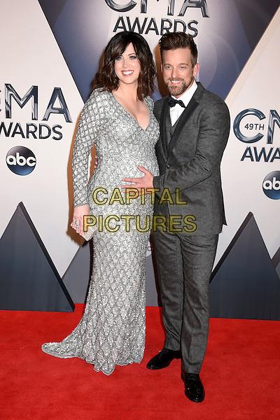 4 November 2015 - Nashville, Tennessee - Shawna Thompson, Keifer Thompson, Thompson Square. 49th CMA Awards, Country Music's Biggest Night, held at Bridgestone Arena. <br /> CAP/ADM/LF<br /> &copy;LF/ADM/Capital Pictures
