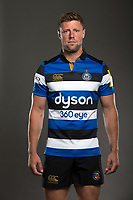 Rhys Priestland poses for a photo during a Bath Rugby photoshoot on August 9, 2017 at Farleigh House in Bath, England. Photo by: Rogan Thomson for Onside Images