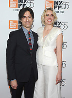 NEW YORK, NY - OCTOBER 01: Director Noah Baumbach and Greta Gerwig attends the New York Film Festival screening of The Meyerowitz Stories (New and Selected) at Alice Tully Hall on October 1, 2017 in New York City. <br /> CAP/MPI/JP<br /> &copy;JP/MPI/Capital Pictures
