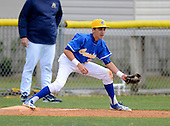 Canterbury Crusaders vs Indian Rocks Christian Golden Eagles varsity baseball at Indian Rocks Christian High School on March 2, 2013 in Largo, Florida.  Indian Rocks defeated Canterbury 2-0.  (Copyright Mike Janes Photography)