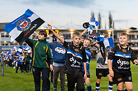 A general view of the half-time pitch parade. European Rugby Champions Cup match, between Bath Rugby and Benetton Rugby on October 14, 2017 at the Recreation Ground in Bath, England. Photo by: Patrick Khachfe / Onside Images