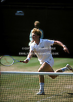 BORIS BECKER (GERMANY)<br /> WIMBLEDON 1985Boris Becker (Germany)<br /> Copyright Michael Cole