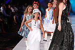 Models walk in runway at the close of the De Lauraine Designs collection fashion show, at The Society Fashion Week on September 9, 2018 at The Roosevelt Hotel in New York City, during New York Fashion Week Spring Summer 2019.