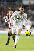 Real Madrid CF vs Athletic Club de Bilbao (5-1) at Santiago Bernabeu stadium. The picture shows Cristiano Ronaldo. November 17, 2012. (ALTERPHOTOS/Caro Marin) NortePhoto