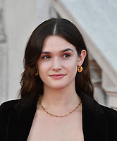 """LONDON, UK, AUGUST 08: Sai Bennett attends the opening night of Film4 Summer Screen at Somerset House featuring the UK Premiere of """"Pain And Glory"""" on August 8, 2019 in London, England. <br /> CAP/JOR<br /> ©JOR/Capital Pictures"""