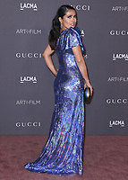 LOS ANGELES - NOVEMBER 4:  Salma Hayek at the 2017 LACMA Art + Film Gala at LACMA on November 4, 2017 in Los Angeles, California. (Photo by Scott Kirkland/PictureGroup)
