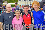 EVENT: Pictured at the Tralee Triathlon Club Event in Fenit on Saturday were l-r: Vincent Sheridan, Cliona O'Donoghue, Brian Kavanagh and Ronan Power..