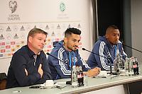 06.10.2015: Pressekonferenz Nationalmannschaft in Frankfurt