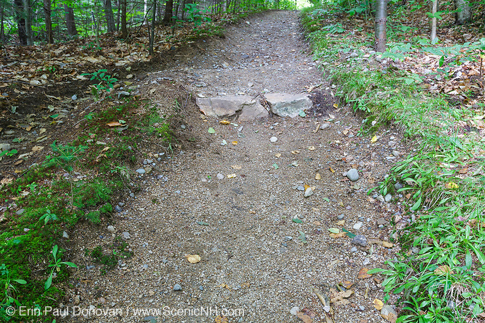 Franconia Notch State Park - Low impact trail work along the Mount Pemigewasset Trail in the White Mountains, New Hampshire.