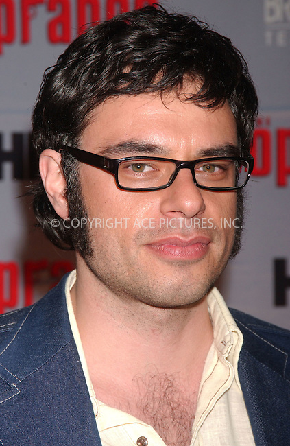 WWW.ACEPIXS.COM . . . . .....March 27, 2007. New York City......Jermaine Clement of Flight of the Conchords attends 'The Sopranos' World Premiere held at Radio City Music Hall.  ....Please byline: Kristin Callahan - ACEPIXS.COM..... *** ***..Ace Pictures, Inc:  ..Philip Vaughan (646) 769 0430..e-mail: info@acepixs.com..web: http://www.acepixs.com