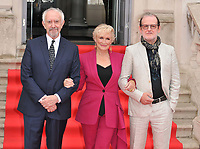Jonathan Pryce, Glenn Close &amp; Bjorn Runge at the &quot;The Wife&quot; Film4 Summer Screen opening gala &amp; launch party, Somerset House, The Strand, London, England, UK, on Thursday 09 August 2018.<br /> CAP/CAN<br /> &copy;CAN/Capital Pictures /MediaPunch ***NORTH AND SOUTH AMERICAS ONLY***