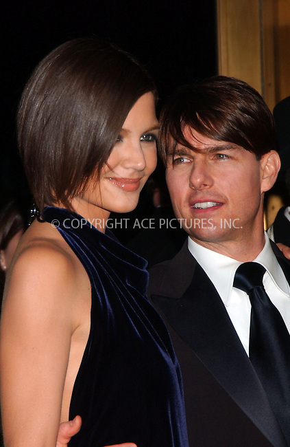 WWW.ACEPIXS.COM . . . . .  ....November 6 2007, New York City....Actor Tom Cruise and his wife, actress Katie Holmes arriving at the 23rd Annual Museum of The Moving Image Black Tie Salute honoring Tom Cruise at Cipriani's 42nd street ....Please byline:KRISTIN CALLAHAN - ACEPIXS.COM..... *** ***..Ace Pictures, Inc:  ..te: (646) 769 0430..e-mail: info@acepixs.com..web: http://www.acepixs.com