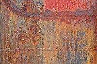 Rusted metal abstract
