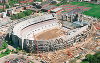 Ohio Stadium under construction at Ohio State University in Columbus, Ohio  Wednesday May 3, 2000. (Columbus Dispatch photo by Craig Holman)