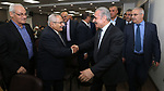 Palestinian Prime Minister Mohammad Ishtayeh, meets with members of the Palestinian community in Cairo, Egypt on October 9, 2019. Photo by Prime Minister Office