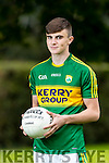 Kerry Captain Sean O Shea Kenmare  on the kerry Minor Panel for the All Ireland Final.