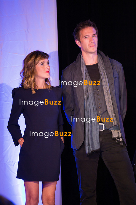 Victoria Bedos &amp; James D'Arcy lors de la soir&eacute;e d'ouverture du 27&egrave;me Festival du film britannique de Dinard. <br /> France, Dinard, 29 septembre 2016.<br /> Opening night of 27th Edition of the Dinard British Film Festival.<br /> France, Dinard, 29 September 2016.