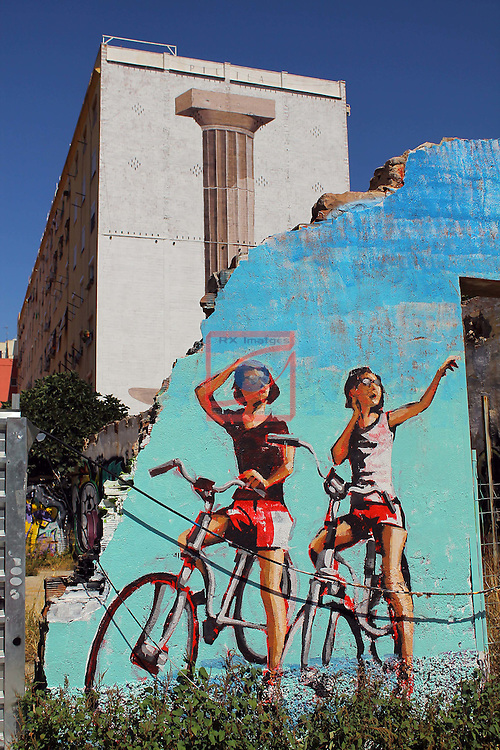 Street Art-Graffittis.<br /> Carrer de Marroc<br /> Barcelona-Poblenou (Sant Marti).