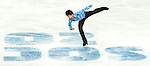 Yuzuru Hanyu of Japan competes in the Figure Skating Men Short Program during the 2014 Sochi Olympic Winter Games at Iceberg Skating Palace on February 6, 2014 in Sochi, Russia. Photo by Victor Fraile / Power Sport Images