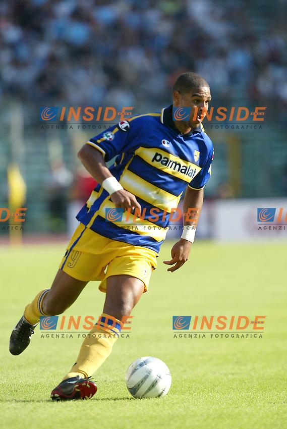 Roma 21/9/2003<br /> Lazio Parma 2-3<br /> Adriano (Parma)<br /> Foto Insidefoto