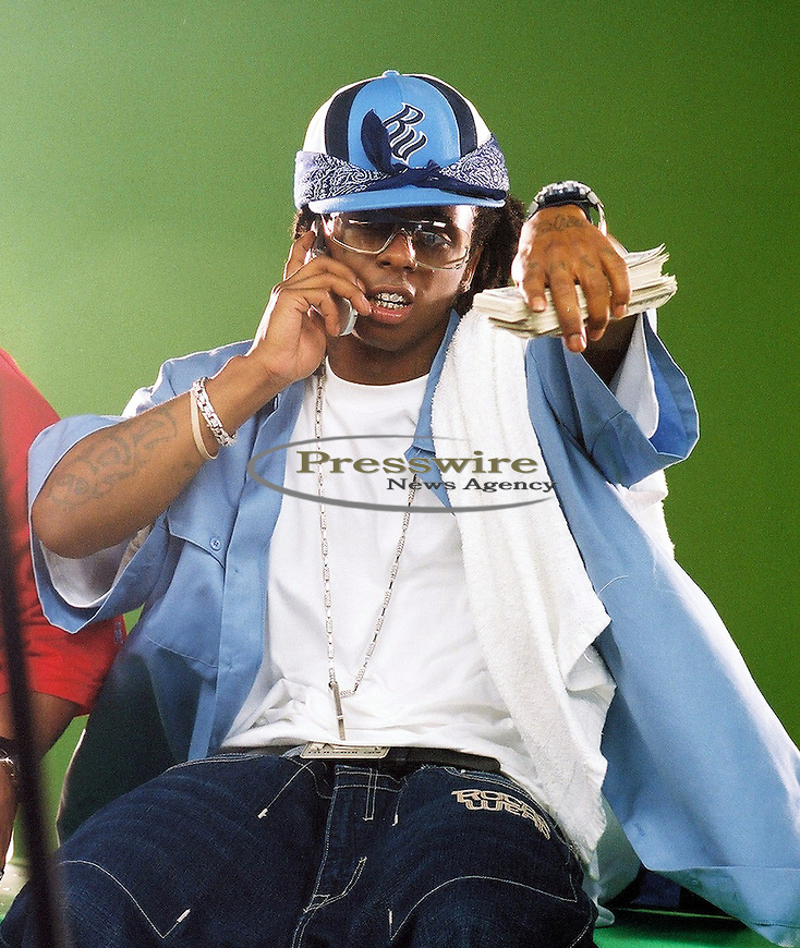 Lil Wayne in New Orleans, Louisiana on August 8, 2003.  Photo credit: Elgin Edmonds / Presswire News