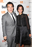 Joe Wright; Anoushka Shankar attending the The 2012 Toronto International Film Festival.Red Carpet Arrivals for 'Anna Karenina' at the Elgin Theatre in Toronto on 9/7/2012