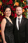 Ruthie Ann Miles and Jonathan Blumenstein attends the American Theatre Wing honors James Earl Jones at the Plaza Hotel on September 28, 2015 in New York City.
