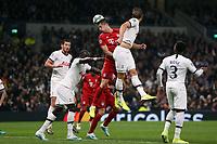 Robert Lewandowski of Bayern Munich beats Harry Kane of Tottenham Hotspur to a header during Tottenham Hotspur vs FC Bayern Munich, UEFA Champions League Football at Tottenham Hotspur Stadium on 1st October 2019