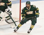 Alexx Privitera (UVM - 18) - The visiting University of Vermont Catamounts defeated the Northeastern University Huskies 6-2 on Saturday, October 11, 2014, at Matthews Arena in Boston, Massachusetts.