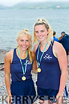 Cliodhna Guiney and Rachel Devane who won the Minor Girls race at the Cromane Regatta on Saturday