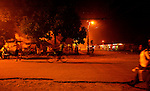 Night street scene, Cahuita, costa Rica..Costa Rica, officially the Republic of Costa Rica is a multilingual, multiethnic and multicultural country in Central America, bordered by Nicaragua to the north, Panama to the southeast, the Pacific Ocean to the west and the Caribbean Sea to the east. Costa Rica, officially the Republic of Costa Rica is a multilingual, multiethnic and multicultural country in Central America, bordered by Nicaragua to the north, Panama to the southeast, the Pacific Ocean to the west and the Caribbean Sea to the east.