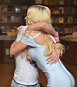 "CORAL GABLES, FL - APRIL 10: Gigi Gorgeous huging a fan after a Q&A and book signing to Promotes Her New Book ""He Said, She Said: Lessons, Stories, and Mistakes from My Transgender Journey"" at Books and Books on April 10, 2019 in Coral Gables, Florida. ( Photo by Johnny Louis / jlnphotography.com )"