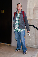 MAY 21 Gilbert Gottfried  arrives at AM to DM for BuzzFeed News