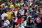 Samoa vs New Zealand during the HSBC Sevens Wold Series Cup Semi Finals match as part of the Cathay Pacific / HSBC Hong Kong Sevens at the Hong Kong Stadium on 29 March 2015 in Hong Kong, China. Photo by Juan Manuel Serrano / Power Sport Images