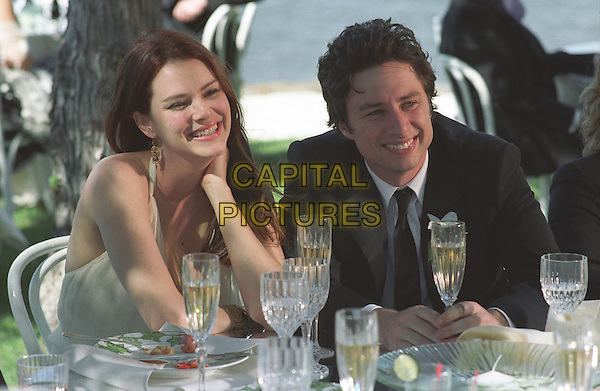 Jacinda Barrett, Zach Braff<br /> in The Last Kiss (2006) <br /> *Filmstill - Editorial Use Only*<br /> CAP/NFS<br /> Image supplied by Capital Pictures
