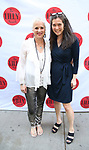 Eve Ensler and Diane Paulus attends the 9th Annual LILLY Awards at the Minetta Lane Theatre on May 21,2018 in New York City.