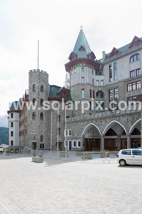**ALL ROUND EXCLUSIVE PICTURES FROM SOLARPIX.COM**.**SYNDICATION RIGHTS FOR UK AND SPAIN ONLY**.Former German tennis star Boris Becker and his fiancee Lilly Kerssenberg (32) will marry in the Regina Pacis Chapel in the Swiss Alps on June 12.This pic:  Grandhotel Badrutt's Palace in St. Moritz. The couple will marry in St. Moritz on June 12 . The dinner will take place at the Grandhotel Badrutt's Palace.JOB REF:  9186     CPR        DATE: 08.06.09.**MUST CREDIT SOLARPIX.COM OR DOUBLE FEE WILL BE CHARGED**.**ONLINE USAGE FEE GBP 50.00 PER PICTURE - NOTIFICATION OF USAGE TO PHOTO @ SOLARPIX.COM**.**CALL SOLARPIX : +34 952 811 768 or LOW RATE FROM UK 0844 617 7637**