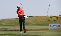 Graeme McDowell (NIR) playing down the 9th fairway during thePro-Am of the 2015 Alstom Open de France, played at Le Golf National, Saint-Quentin-En-Yvelines, Paris, France. /01/07/2015/. Picture: Golffile | David Lloyd<br /> <br /> All photos usage must carry mandatory copyright credit (&copy; Golffile | David Lloyd)