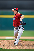 Columbus Clippers pitcher C.C. Lee (20) delivers a pitch during a game against the Buffalo Bisons on July 19, 2015 at Coca-Cola Field in Buffalo, New York.  Buffalo defeated Columbus 4-3 in twelve innings.  (Mike Janes/Four Seam Images)