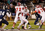 November 10, 2012: Fresno State Bulldogs running back Robbie Rouse against the Nevada Wolf Pack during their NCAA football game played at Mackay Stadium on Saturday night in Reno, Nevada.